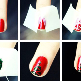 diy-christmas-nail-art-with-scotch-tape-easy-christmas-nail-art-with-scotch-tape-f14245